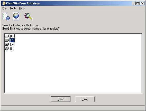 Windows 7 ClamWin Free Antivirus 0.103.2.1 full